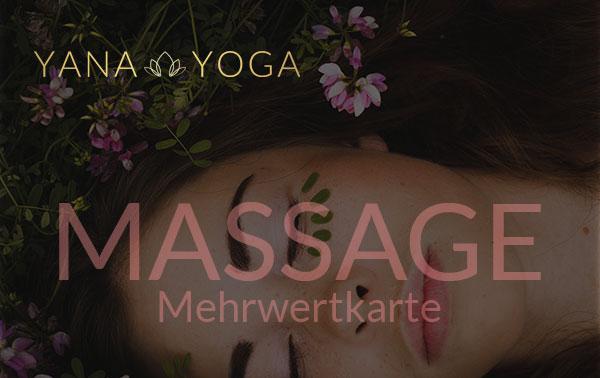 Yana Yoga Loft Limburg Mehrwertkarte Massage
